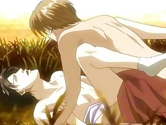 Handsome anime gay having hot penetration fun
