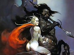 Erotic Fantasy Art 3 - Frank Frazetta